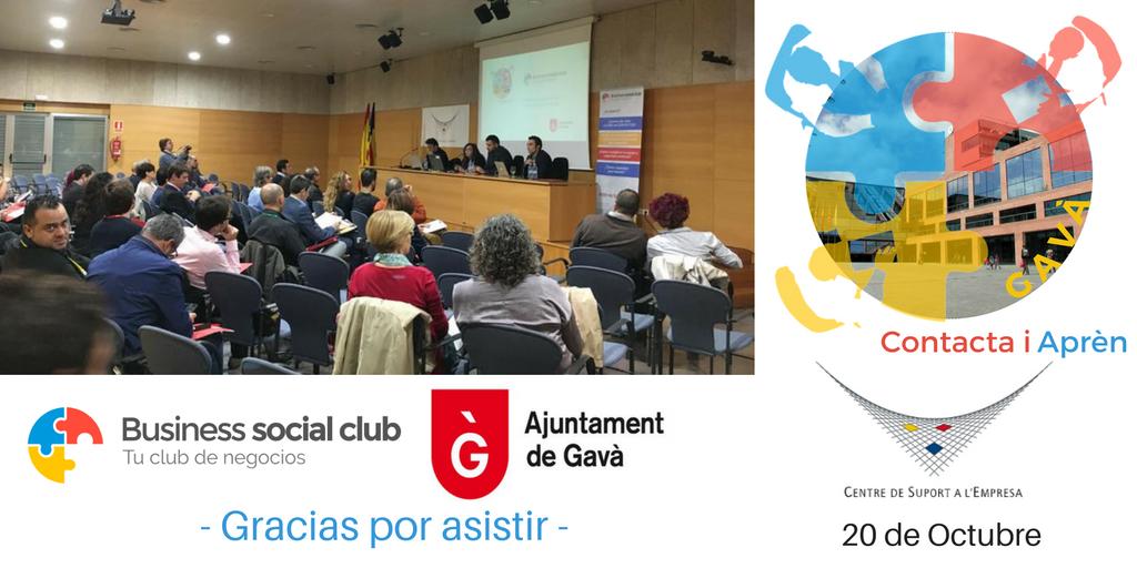ayuntamiento de Gavà y Business Social Club